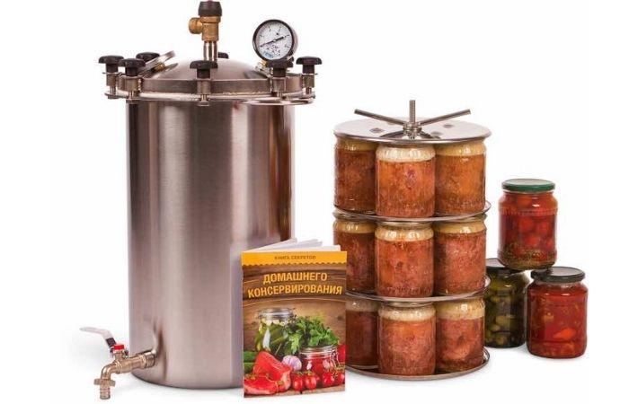 автоклав для домашнего консервирования домашний стандарт