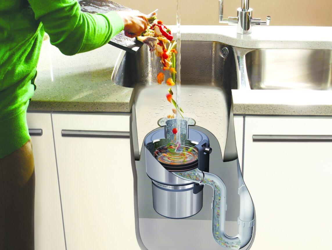 5 лучших измельчителей пищевых отходов