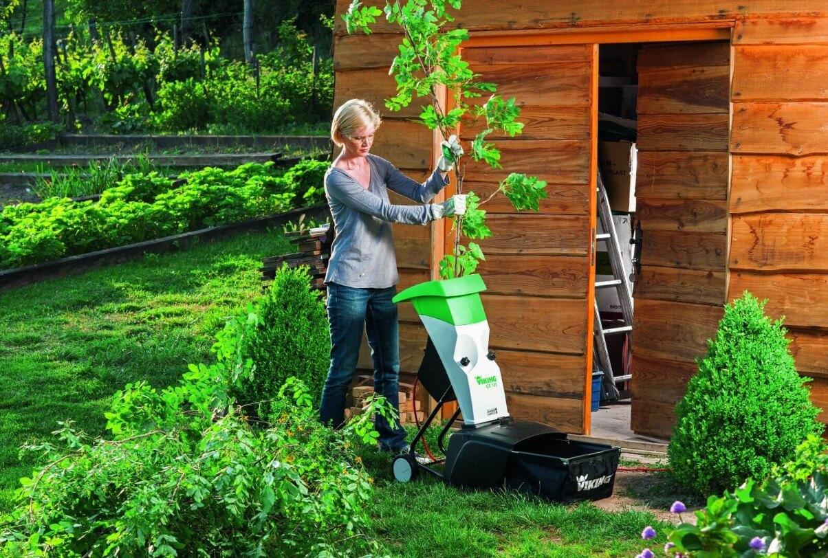 ТОП 5 лучших садовый измельчителей