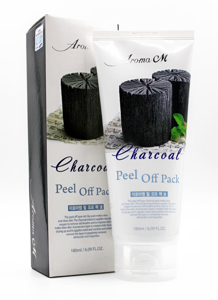 AROMA M Charcoal Peel off Pack