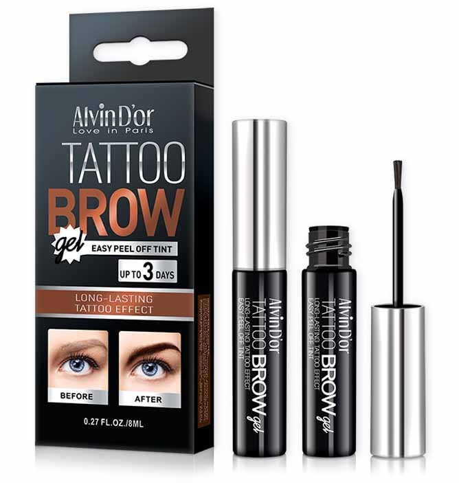 ALVIN D'OR TATTOO BROW GEL