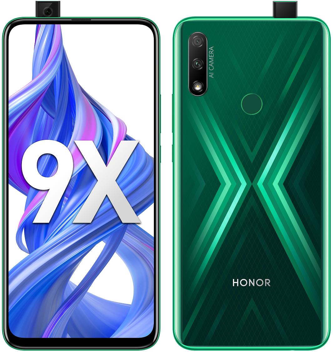 Honor 9X 4+128GB Emerald Green