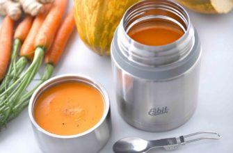 термос с супом