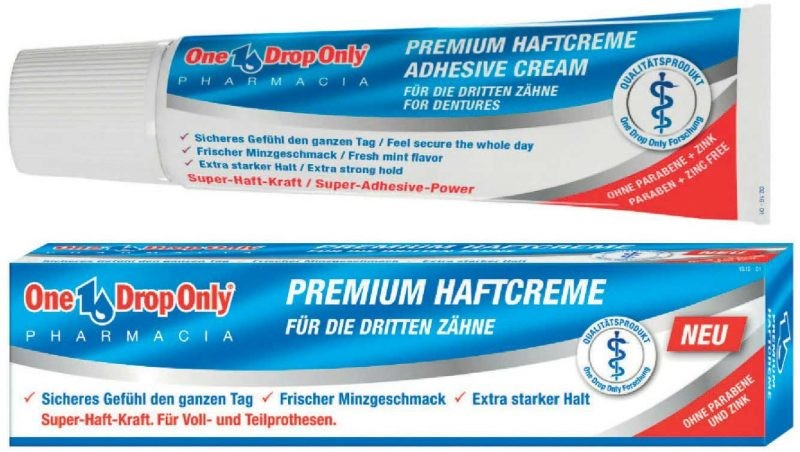 One Drop Only PREMIUM HAFTCREME